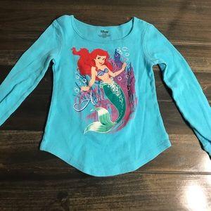 Disney Toddler Girl Ariel Shirt